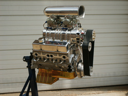 SMALL BLOCK CHEVY SUPERCHARGED CRATE ENGINES - Holeshot Ford Engines